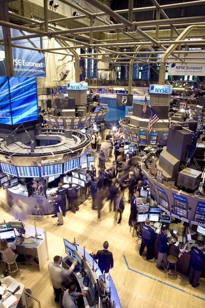 Blick auf die Wall Street