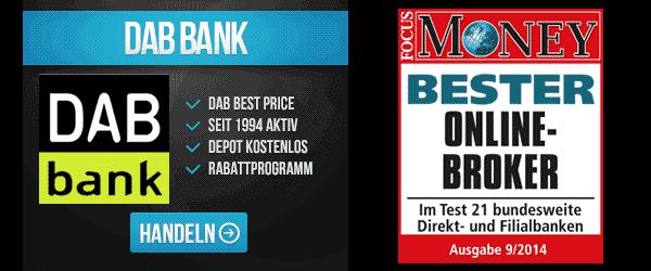 DAB Bank Aktienhandel