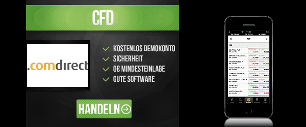 comdirect CFDs