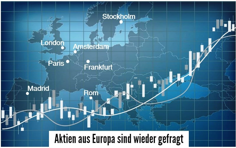 uropäische Aktienfonds sind für Investoren wieder interessant