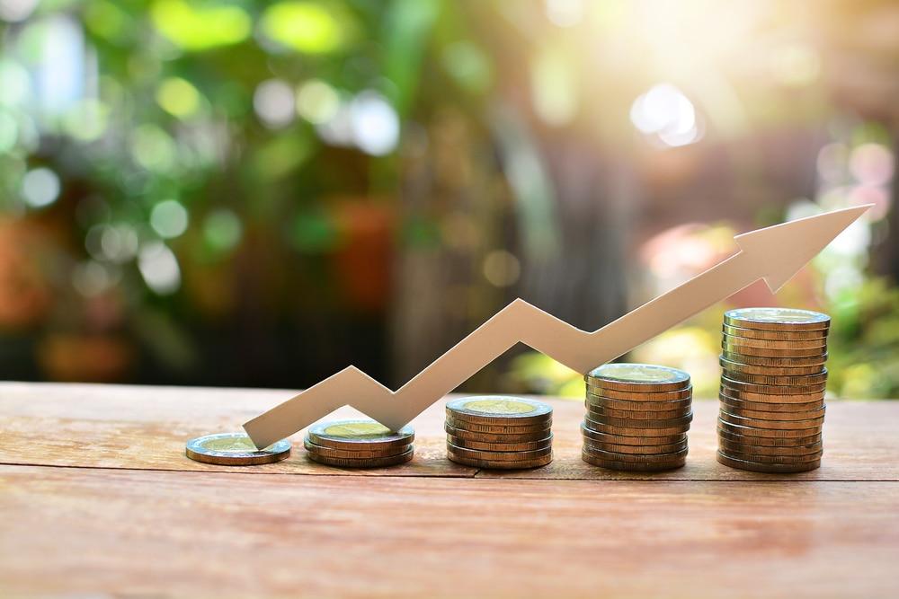 Symbolbild für steigende Rendite bei der Geldanlage