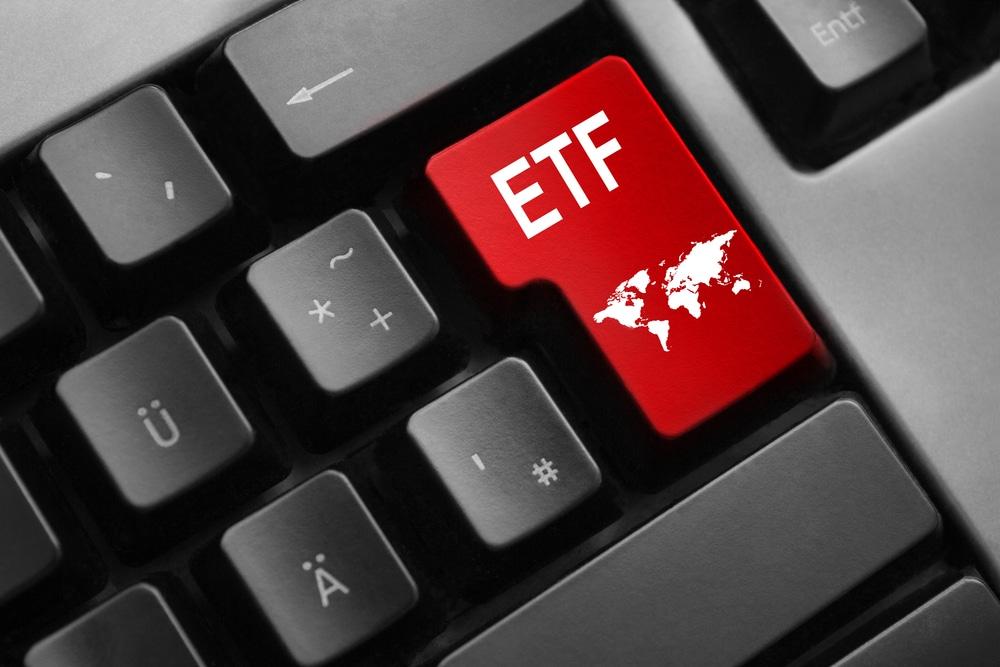Taste mit der Bezeichnung ETF